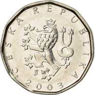 Monnaie, République Tchèque, 2 Koruny, 2003, TTB, Nickel Plated Steel, KM:9 - Tchéquie