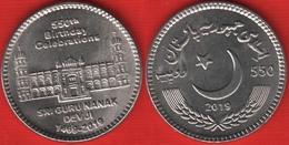 "Pakistan 550 Rupees 2019 ""Guru Nanak Dev Ji"" UNC - Pakistan"