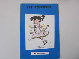 Carte Postale Illustrateur G MEUNIER Les Touristes, La Hollandaise - Meunier, G.