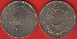 "Pakistan 50 Rupees 1997 Km#60 ""Independence "" UNC - Pakistan"