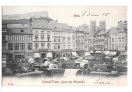 Huy Grand Place Jour Du Marché 11 1905 - Huy