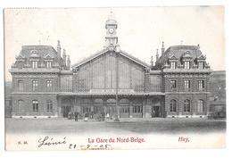 Huy La Gare Du Nord Belge 45 1905 Chemins De Fer - Hoei