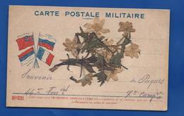 Carte Postale Militaire    Fleurs Séchées - War 1914-18