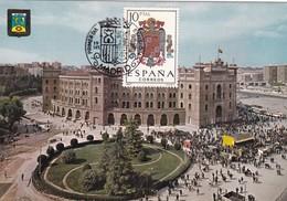 España Nº 1704 En Tarjeta - Maximum Cards