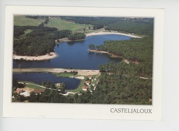 Casteljaloux, Sa Plage, Son Camping, Le Golf (aérienne) - Casteljaloux
