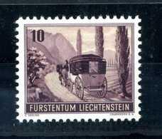 1946 LIECHTENSTEIN SET MNH ** DA BF - Nuevos