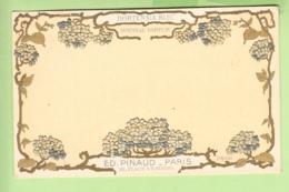PARFUM Nouveau - HORTENSIA Bleu - Ed. PINAUD PARIS  -  Dos Simple , Gaufrée - BE - 2 Scans - Advertising