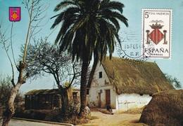 España Nº 1697 En Tarjeta - Maximum Cards