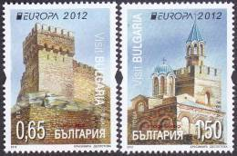 CEPT / Europa 2012 Bulgarie N° 4310 Et 4311 ** Tourisme - 2012
