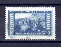 Monaco 1933-37, 10-F Château Vue De La Principauté, Yv. 133,  Cote 91 €, - Mónaco