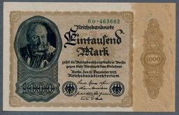 Pick82a  Ro81b  DEU-92c - 1000 Mark 1922 ** UNC ** - [ 3] 1918-1933 : Weimar Republic