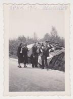 27825 Photo MOURMELON Tank De 1914 - Photo Des Années 30 Sans Doute - Guerre, Militaire
