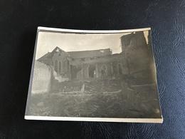 PHOTO 14-18 (Ruines) Eglise De ST HILAIRE LE GRAND (Marne) - Guerre, Militaire