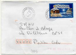 France N° 3294 Y. Et T. Vienne Scorbé Clairvaux Cachet A9 Du 17/01/2000 - 1961-....