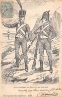 Illustrateur - N°66927 - Sacaviel ??? - Sous-Officiers Des Douanes En 1829-1830 - Autres Illustrateurs