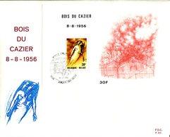 14181717 Belgium 19810919 Jemeppe-s-M Bois-du-Cazier Marci Charbonnage Fdc Cob Bf57 - 1981-90