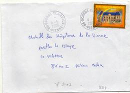 France N° 3307 Y. Et T. Vienne Scorbé Clairvaux Cachet A9 Du 11/05/2000 - 1961-....