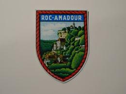 Blason écusson Adhésif Autocollant Rocamadour Aufkleber Wappen Coat Of Arms Sticker Adhesivo Adesivo Stemma - Oggetti 'Ricordo Di'