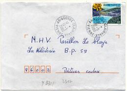 France N° 3311 Y. Et T. Vienne Scorbé Clairvaux Cachet A9 Du 10/05/2000 - 1961-....