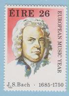 J.P.S. 5 - Musique - Timbre - Compositeur - N° 114 - Irelande - Bach - N° Yvert 570 - Musique