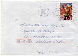 France N° 3313 Y. Et T. Vienne Buxerolles Flamme Muette Du 18/05/2000 - 1961-....