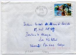 France N° 3316 Y. Et T. Vienne Naintré Flamme Muette Du 17/05/2000 - 1961-....