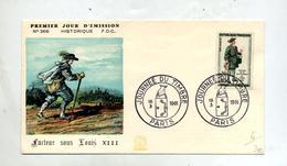 Lettre Cachet Paris Journee Du Timbre 1961 - Postmark Collection (Covers)