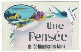 Une Pensée De St-MAURICE-les-LIONS (16) - France
