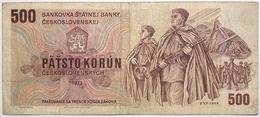 Tchécoslovaquie - 500 Korun - 1973 - PICK 93 - TB+ - Tchécoslovaquie