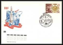 0985 Espace (space Raumfahrt) Lettre (cover Briefe) Russie (Russia Urss USSR) 30/3/1971 Fdc 3709 Gagarine Gagarin - FDC & Commémoratifs