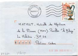 France N° 3329 Y. Et T. Vienne Poitiers CTC Flamme Muette Du 30/05/2000 - 1961-....