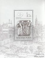 Ungarn Block191A (kompl.Ausg.) Postfrisch 1987 Tag Der Briefmarke - Hojas Bloque