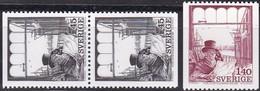 Schweden, 1974,  Mi. Nr.: 862/63,  MNH **, 100 Jahre Publizistenklub - Sweden