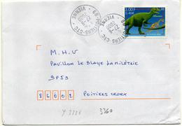 France N° 3334 Y. Et T. Vienne Poitiers CTC Cachet A9 Du 27/06/2000 - 1961-....