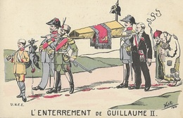 L'Enterrement De GUILLAUME II - Illustration De Woski - Illustrators & Photographers