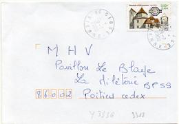 France N° 3336 Y. Et T. Vienne Cissé Cachet A9 Du 29/07/2000 - 1961-....