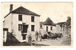 CRAONNE (02) - Vue Du Village Avec Des Militaires - Ed. J. Schneider, Elberfeld - Craonne