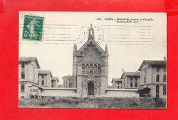 75 - Paris : Hôpital Saint Joseph, La Chapelle - Health, Hospitals