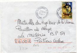 France N° 3337 Y. Et T. Charente Mme Migron Cachet A9 Du 30/08/2000 - 1961-....