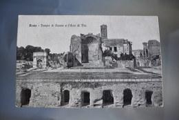 A345 Roma Tempio Di Venere E L Arco Di Tito - Panthéon