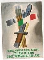 WW2 - FRANCHIGIA - PRIMA MOSTRA DEGLI ARTISTI ...... - Guerre 1939-45