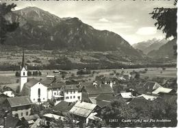 Cazis (Grisons, Svizzera) Mit Piz Scalottas, Gesamtansicht Und Kirche, View And The Church, Panorama E Chiesa - GR Grisons