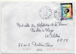 France N° 3351 Y. Et T. Vienne Liglet Cachet A9 Du 21/10/2000 - 1961-....