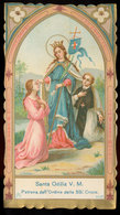 SANTA ODILIA V. M. PATRONA DELLA SS. CROCE - Devotion Images
