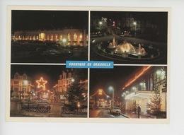 Souvenir De Deauville By Night : Casino Et Place Morny (cp Vierge N°0103 Combier) - Deauville