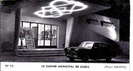 1952 CASINO MUNICIPAL DE CASSIS  Bouches Du Rhone COMÉDIES REVUES DÉFILES ETC   PUBLICITES   V.SCANS - Programmes
