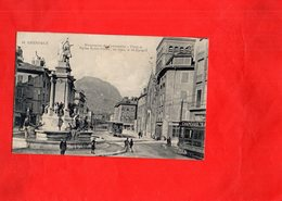 G2304 - GRENOBLE - D38 - Place Et Eglise Notre Dame - Grenoble