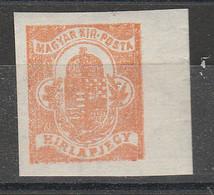 PIA - UNGHERIA - 1908  : Francobollo Per Giornali - (Mi 108) - Newspapers