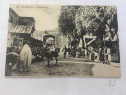 CPA TUNISIE - KAIROUAN - 715 - La Grande Rue - Tunisia