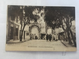 CPA TUNISIE - KAIROUAN - Portes Djelladines - Tunisia